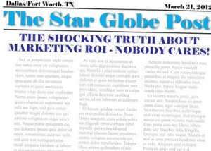 The Shocking Truth About Marketing ROI - Nobody Cares